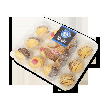 assorted biscuits