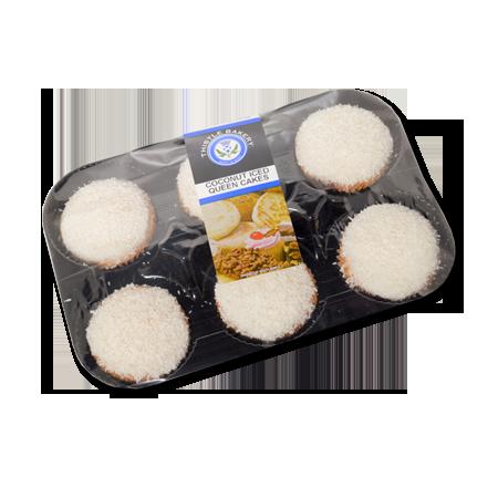 Coconut Queen Cakes