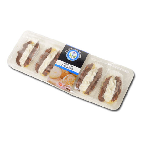 cream finger biscuits