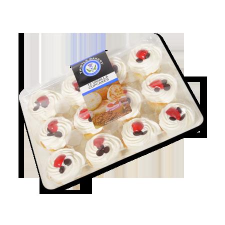 vanilla cupcakes 12