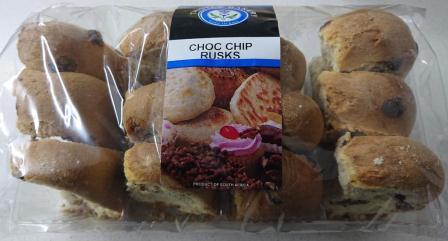 500g Choc Chip Rusks R32.00