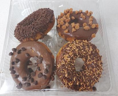 Assorted Doughnuts 4's R17.00