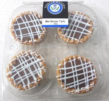 Mini Barone Tarts 4's R20.00