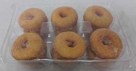 Mini Cinnamon Doughnuts 12's R13.00
