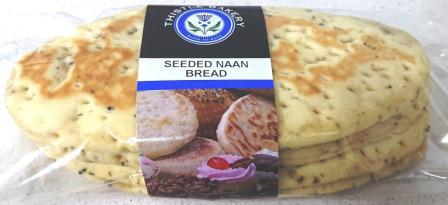 Seeded Naan Bread 4's R13.00