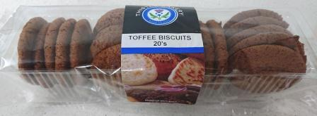 Toffee Biscuits 20's R27.00