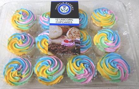 Unicorn Cupcakes R26.50