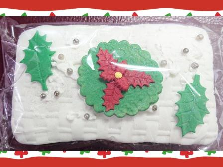 Xmas Fruit Loaf Decorated (1) R49-00